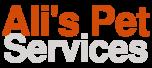 Ali's Pet Services